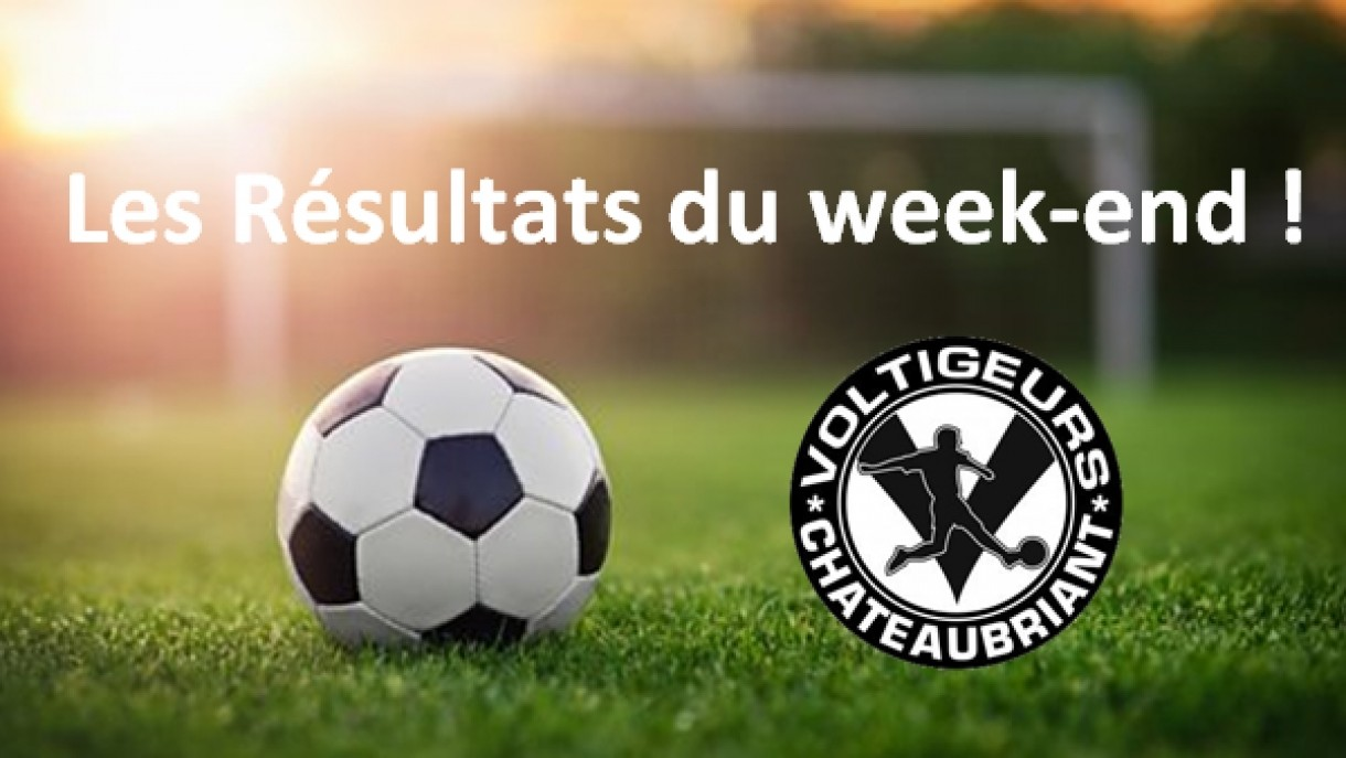 Résultats du week-end du 14-15 avril 2018