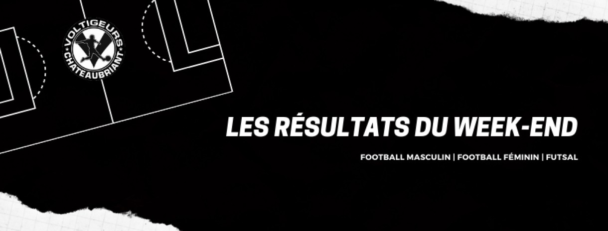Les resultats du week-end