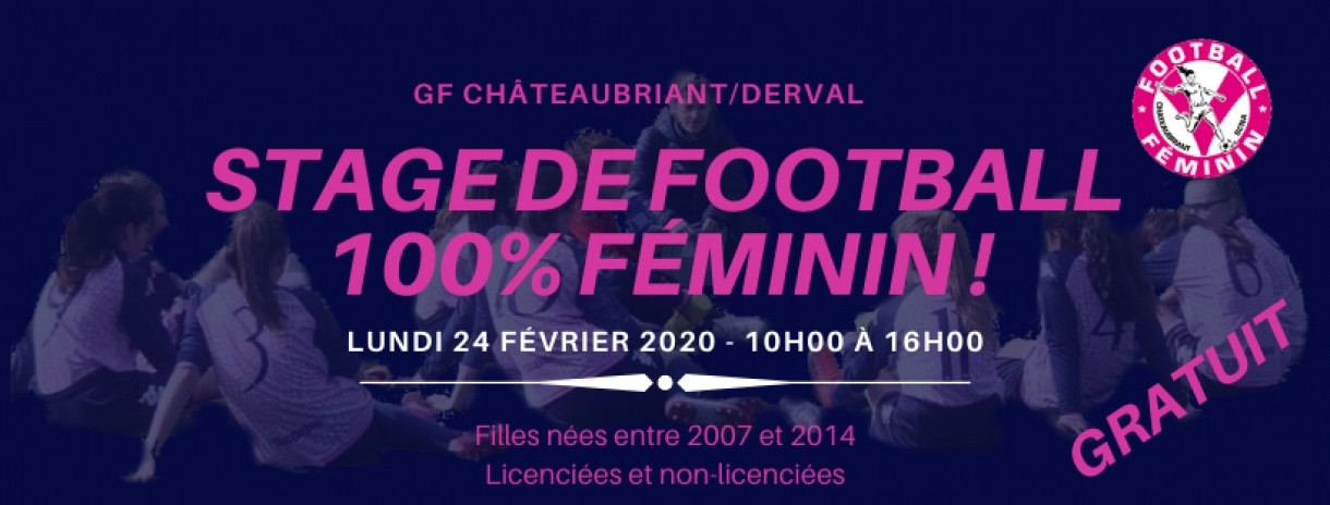 STAGE DE FOOTBALL FÉMININ !