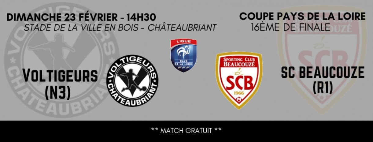 Le match du week-end !