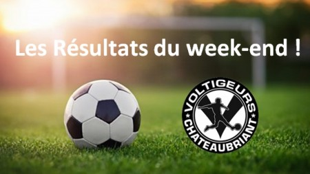 Résultats du week-end du 21-22 avril